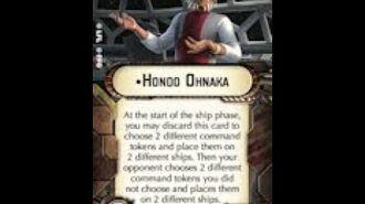 """How-to use Officer """"Hondo Ohnaka"""" - Star Wars Armada Explained (SWAE)"""