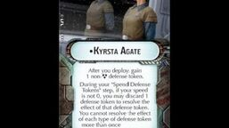 """How-to use Commander """"Kyrsta Agate"""" - Star Wars Armada Explained (SWAE)"""