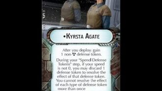 "How-to use Commander ""Kyrsta Agate"" - Star Wars Armada Explained (SWAE)"