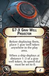 G7-X Grav Well Projector