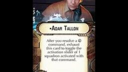 """How-to use Officer """"Adar Tallon"""" - Star Wars Armada Explained (SWAE)"""