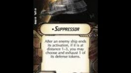 """How-to use Title """"Suppressor"""" - Star Wars Armada Explained (SWAE)"""