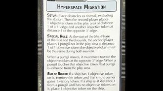 """How-to play Objective """"Hyperspace Migration"""" - Star Wars Armada Explained (SWAE)"""