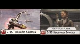 "How-to use Squadron ""Z-95 Headhunter"" (and Uniques) - Star Wars Armada Explained (SWAE)"