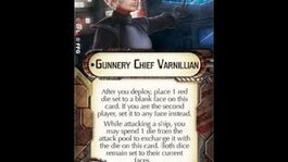 """How-to use Weapons Team """"Gunnery Chief Varnillian"""" - Star Wars Armada Explained (SWAE)"""
