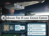 Quasar Fire II-class Cruiser-Carrier