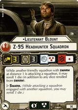 Lieutenant Blount Z-95 Headhunter Squadron