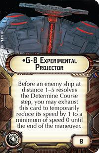 Swm16 g-8 experimental projector