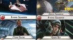 """How-to use Squadron """"A-wing"""" (and Uniques) - Star Wars Armada Explained (SWAE)"""