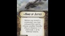 "How-to use Title ""Hand of Justice"" - Star Wars Armada Explained (SWAE)"