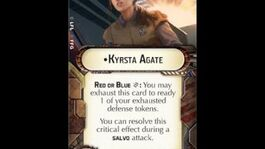 """How-to use Officer """"Kyrsta Agate"""" - Star Wars Armada Explained (SWAE)"""