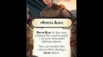 "How-to use Officer ""Kyrsta Agate"" - Star Wars Armada Explained (SWAE)"