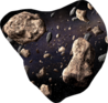 Asteroid-cluster