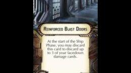 "How-to use Defensive Retrofit ""Reinforced Blast Doors"" - Star Wars Armada Explained (SWAE)"