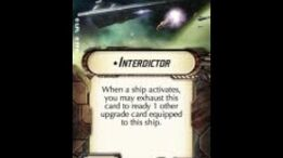 """How-to use Title """"Interdictor"""" - Star Wars Armada Explained (SWAE)"""