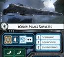 Raider I-class Corvette