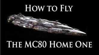 Captain's Clinic - How to fly the MC80 Home One - Star Wars Armada