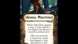 """How-to use Officer """"Admiral Montferrat"""" - Star Wars Armada Explained (SWAE)"""