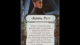 "How-to use Commander ""Admiral Piett"" - Star Wars Armada Explained (SWAE)"
