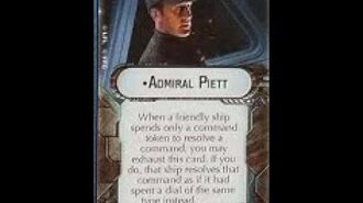 """How-to use Commander """"Admiral Piett"""" - Star Wars Armada Explained (SWAE)"""