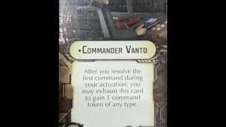"""How-to use Officer """"Commander Vanto"""" - Star Wars Armada Explained (SWAE)"""