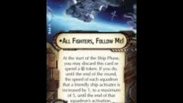 """How-to use Fleet Command """"All Fighters, Follow Me!"""" - Star Wars Armada Explained (SWAE)"""