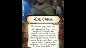 """How-to use Officer """"Bail Organa"""" - Star Wars Armada Explained (SWAE)"""
