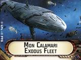 Mon Calamari Exodus Fleet