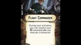 """How-to use Officer """"Flight Commander"""" - Star Wars Armada Explained (SWAE)"""