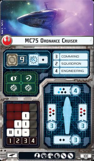 Swm30 card mc75-ordnance-cruiser