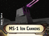 MS-1 Ion Cannon