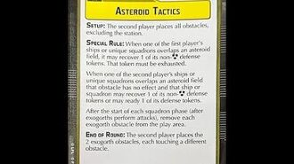 """How-to play Objective """"Asteroid Tactics"""" - Star Wars Armada Explained (SWAE)"""