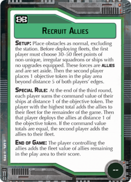 Objective-green Recruit Allies