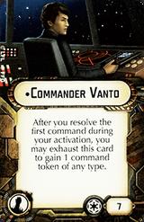 Commander Vanto