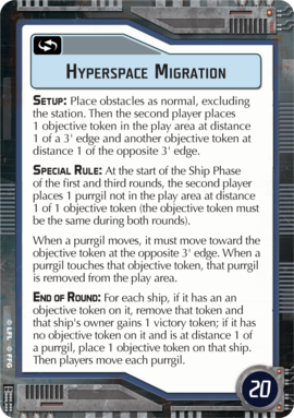 Objective-blue Hyperspace Migration