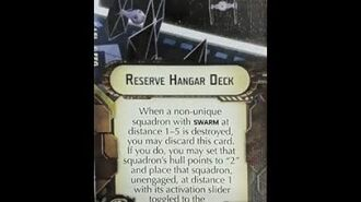 """How-to use Offensive Retrofit """"Reserve Hangar Deck"""" - Star Wars Armada Explained (SWAE)"""
