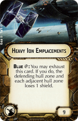 Heavy Ion Emplacements