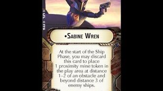 """How-to use Officer """"Sabine Wren"""" - Star Wars Armada Explained (SWAE)"""
