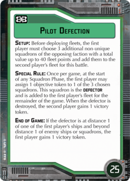 Objective-green Pilot Defection