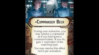 "How-to use Officer ""Commander Beck"" - Star Wars Armada Explained (SWAE)"