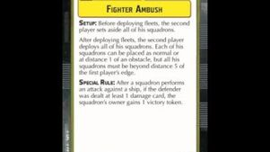 """How-to play Objective """"Fighter Ambush"""" - Star Wars Armada Explained (SWAE)"""
