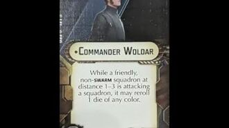 """How-to use Officer """"Commander Woldar"""" - Star Wars Armada Explained (SWAE)"""