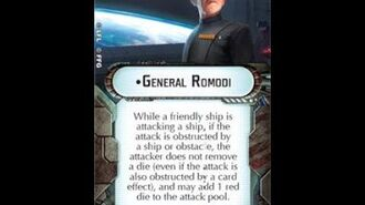 "How-to use Commander ""General Romodi"" - Star Wars Armada Explained (SWAE)"