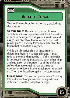 Volatile Cargo