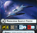 Mandalorian Gauntlet Fighter