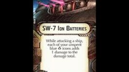 "How-to use Ion Cannon ""SW-7 Ion Batteries"" - Star Wars Armada Explained (SWAE)"