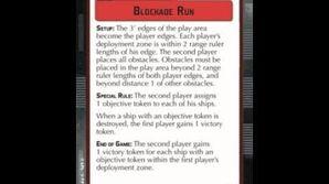 "How-to play Objective ""Blockade Run"" - Star Wars Armada Explained (SWAE)"