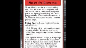 """How-to play Objective """"Marked For Destruction"""" - Star Wars Armada Explained (SWAE)"""