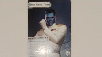 """How-to use Commander """"Grand Admiral Thrawn"""" - Star Wars Armada Explained (SWAE)"""