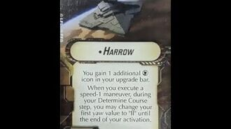 "How-to use Title ""Harrow"" - Star Wars Armada Explained (SWAE)"